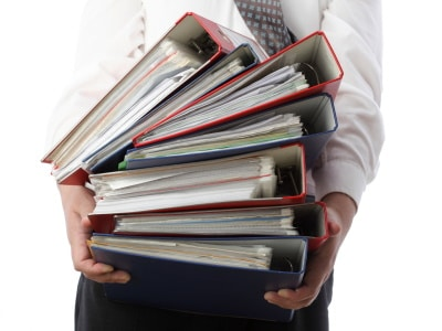Image of accounting files