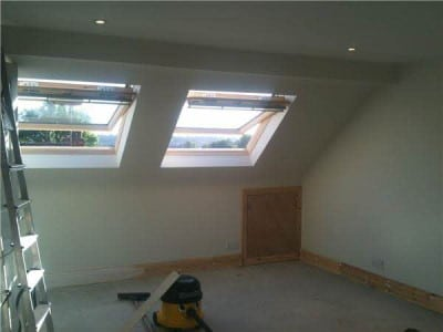 Image of hip to gable end conversion