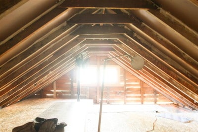 Low ceiling height loft conversion picture