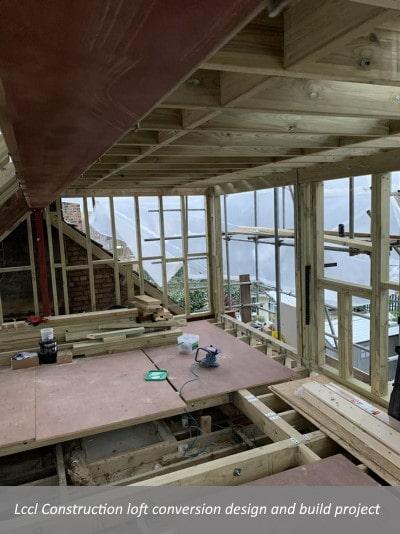 Lccl Construction loft conversion design and build project