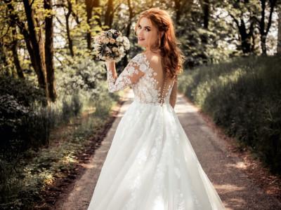 Photography of wedding bride